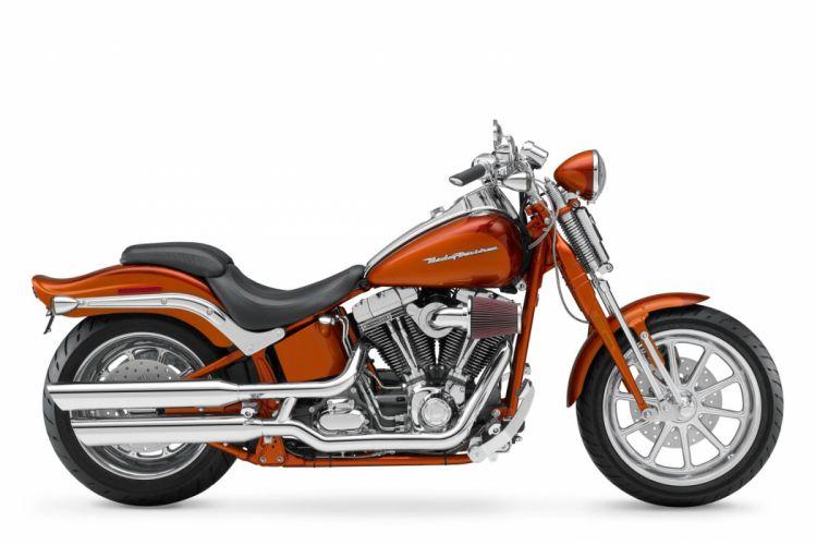 2008 Harley Davidson FXSTSSE2 Screamin' Eagle Softail Springer wallpaper