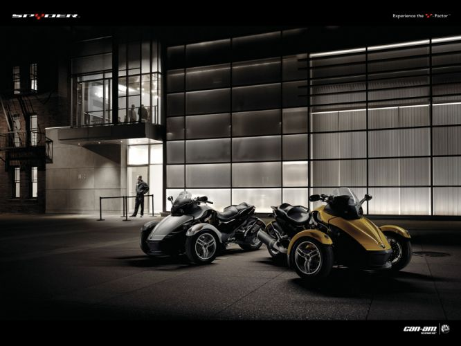 2009 Can-Am Spyder Roadster SE5 wallpaper