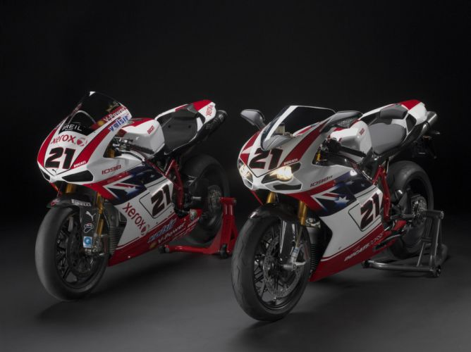 2009 Ducati 1098R Bayliss Limited Edition e wallpaper