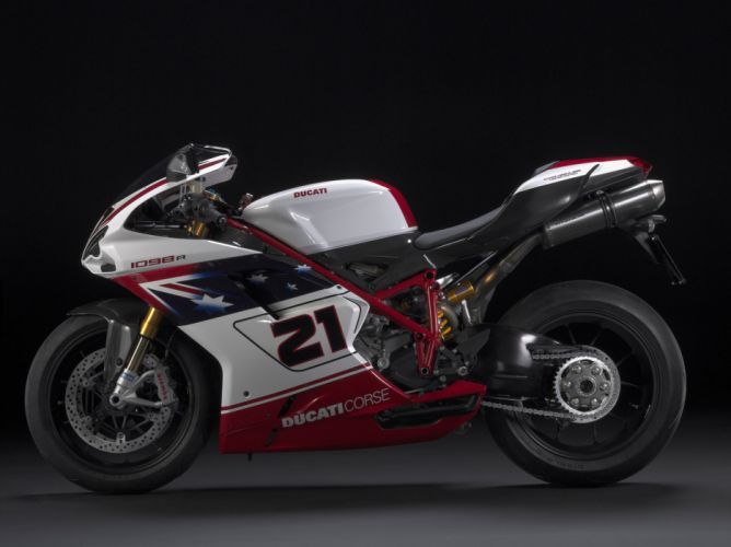 2009 Ducati 1098R Bayliss Limited Edition wallpaper