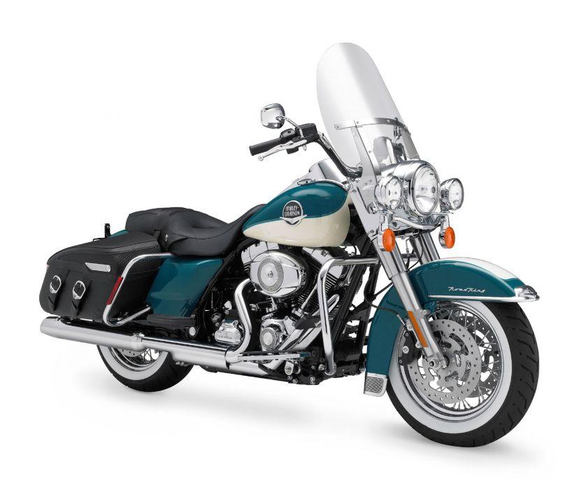 2009 Harley Davidson FLHRC Road King Classic    f wallpaper