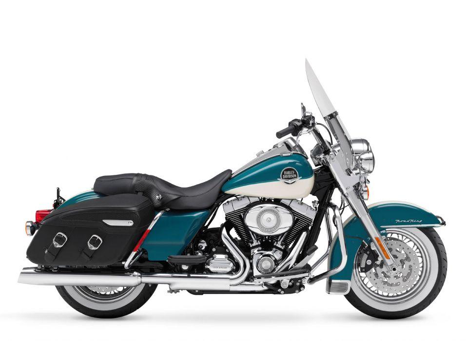 2009 Harley Davidson FLHRC Road King Classic  d wallpaper