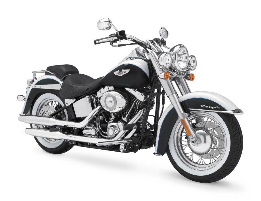 2009 Harley Davidson FLSTN Softail Deluxe    f wallpaper