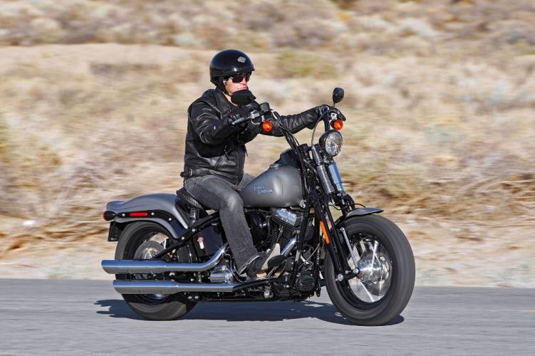 2009 Harley Davidson FLSTSB Softail Cross Bones g wallpaper