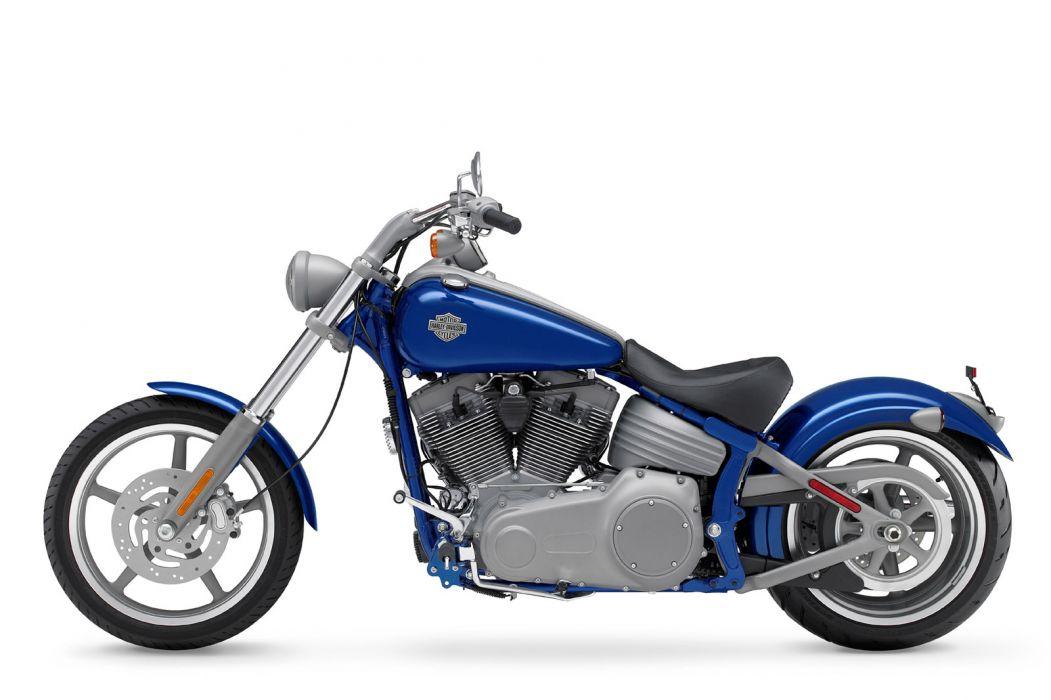 2009 Harley Davidson FXCW Softail Rocker wallpaper