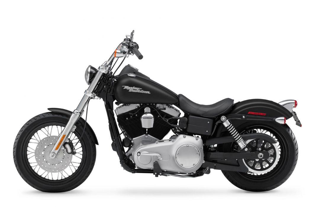 2009 Harley Davidson FXDB Dyna Street Bob  f wallpaper