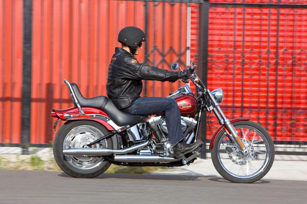 2009 Harley Davidson FXSTC Softail Custom wallpaper