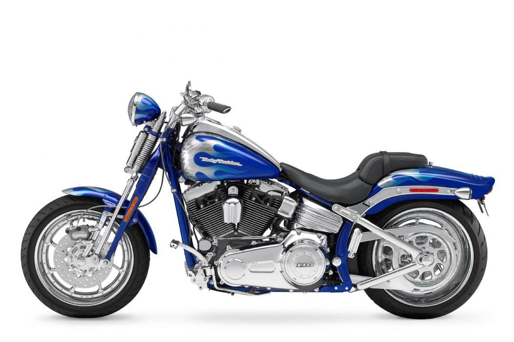 2009 Harley Davidson FXSTSSE3 CVO Softail Springer wallpaper