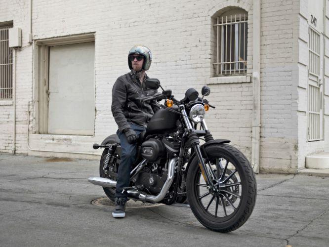 2009 Harley Davidson Sportster 883 Iron XL883N f wallpaper