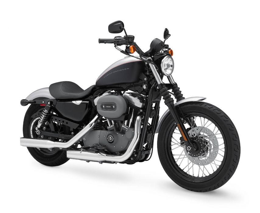 2009 Harley Davidson Sportster 1200 Nightster XL1200N  f wallpaper