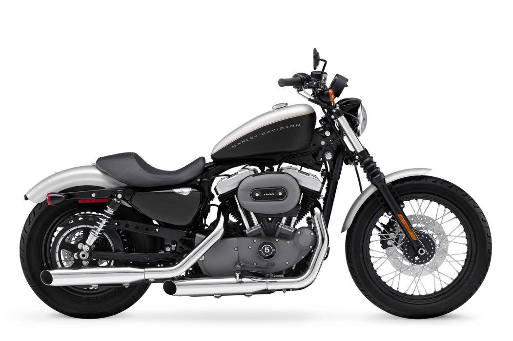 2009 Harley Davidson Sportster 1200 Nightster XL1200N wallpaper