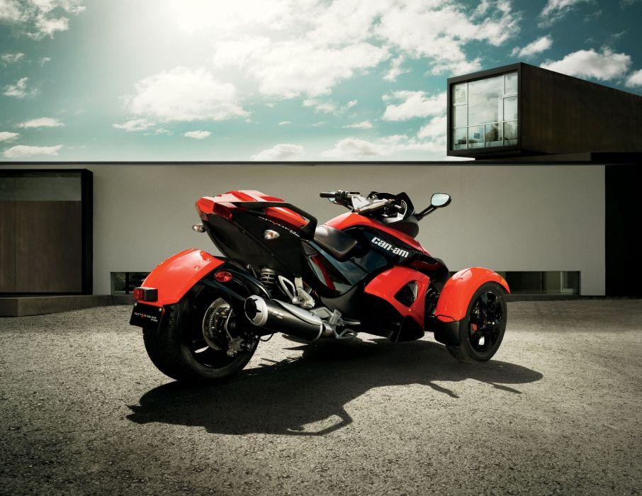 2010 Can-Am Spyder R-S Roadster    h wallpaper