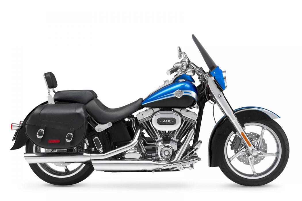 2010 Harley Davidson CVO Softail Convertible FLSTSE  f wallpaper