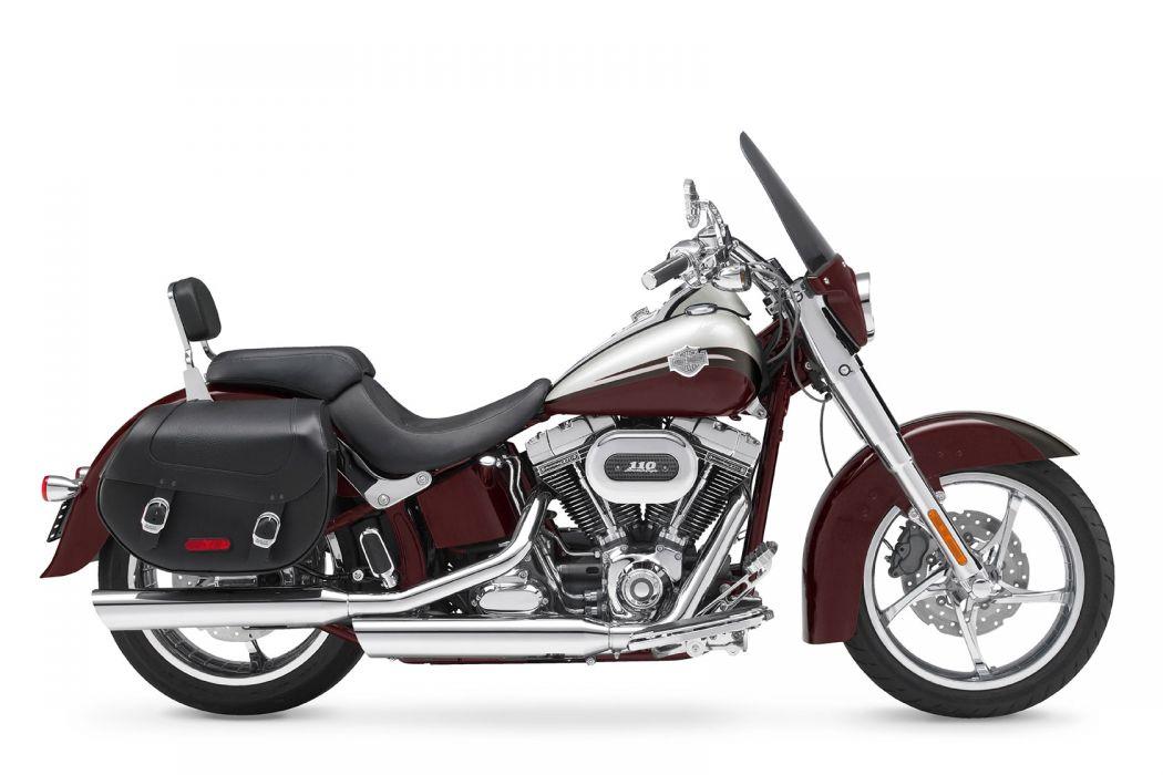 2010 Harley Davidson CVO Softail Convertible FLSTSE wallpaper