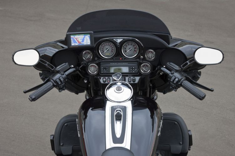 2010 Harley Davidson CVO Ultra Classic Electric Glide Dark Side Limited Edition interior wallpaper