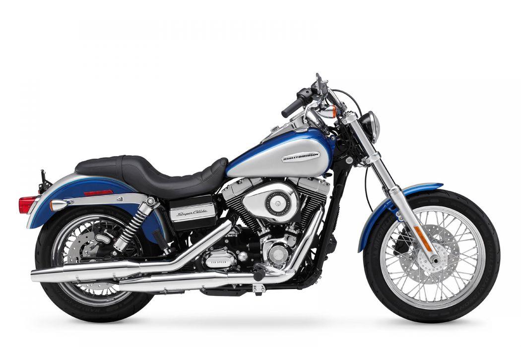 2010 Harley Davidson Dyna Super Glide Custom FXDC wallpaper