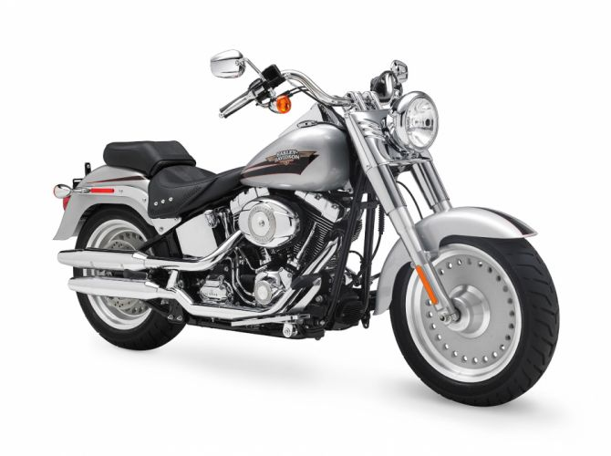 2010 Harley Davidson Fat Boy FLSTF f wallpaper