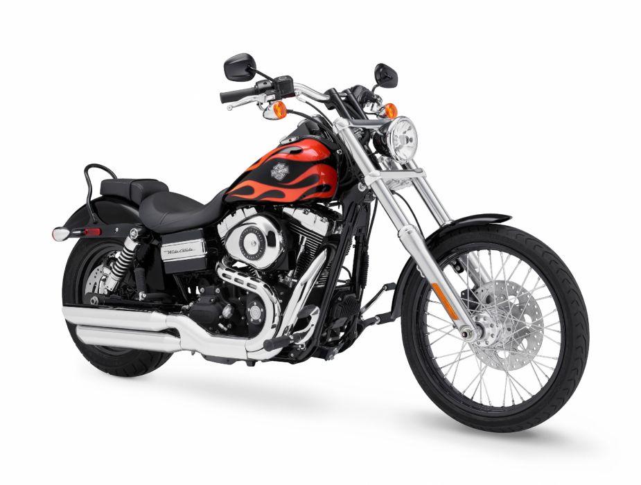 2010 Harley Davidson FXDWG Dyna Wide Glide wallpaper