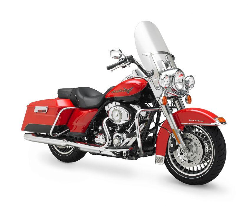 2010 Harley Davidson Road King FLHR  d wallpaper