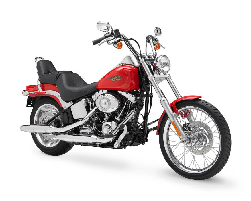 2010 Harley Davidson Softail Custom FXSTC   f wallpaper