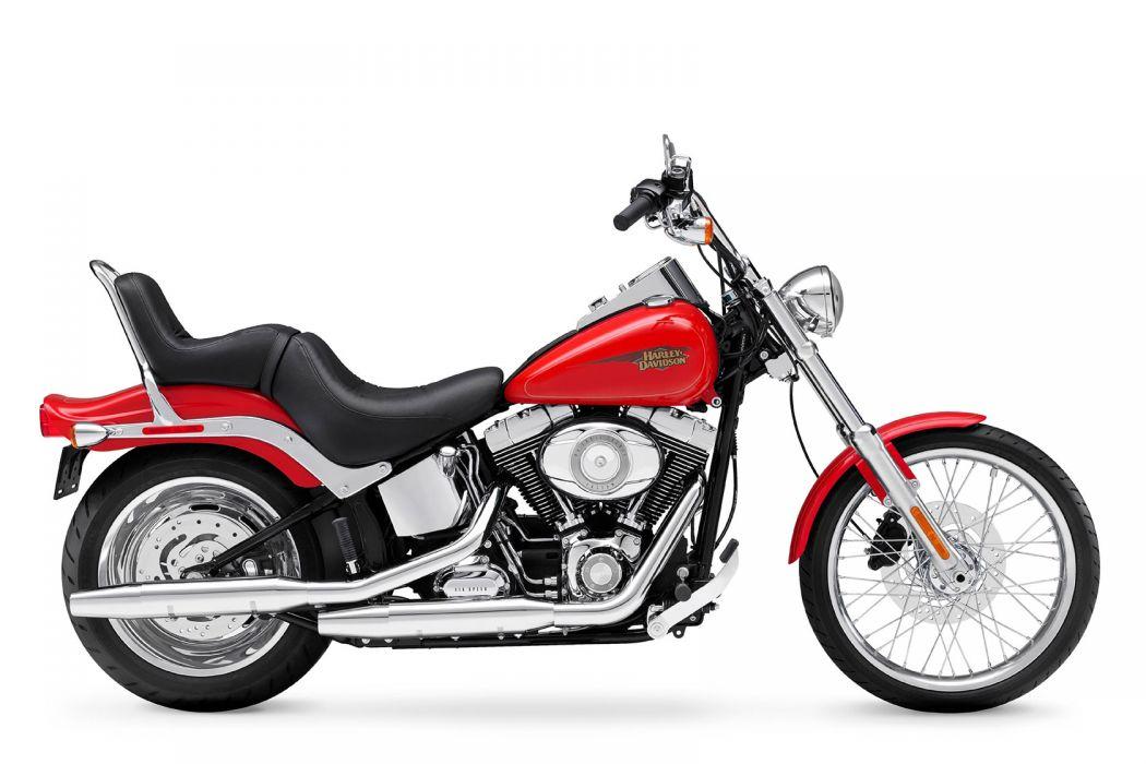 2010 Harley Davidson Softail Custom FXSTC wallpaper