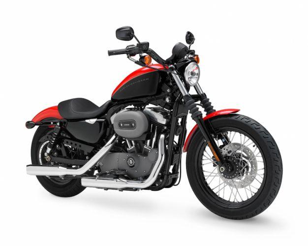 2010 Harley Davidson Sportster 1200 Nightster XL1200N d wallpaper