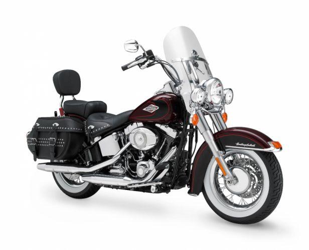 2011 Harley Davidson FLSTC Heritage Softail Classic d wallpaper