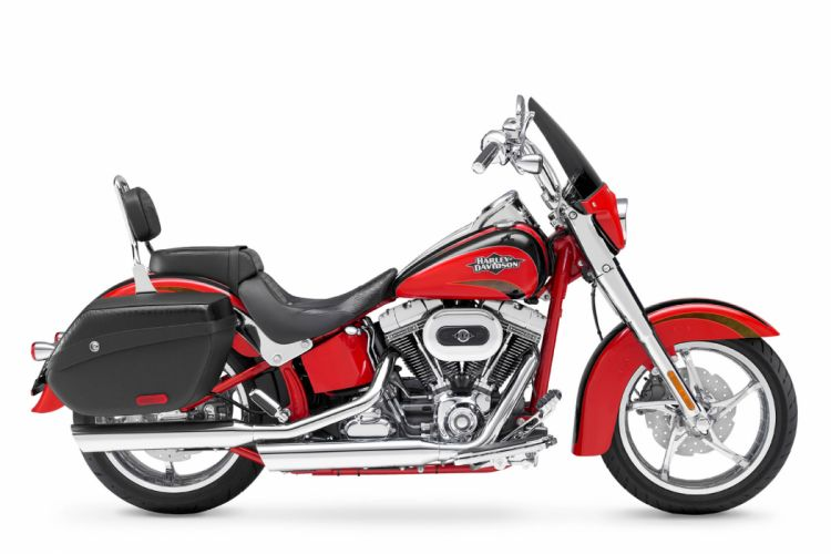 2011 Harley Davidson FLSTSE2 CVO Softail Convertible d wallpaper