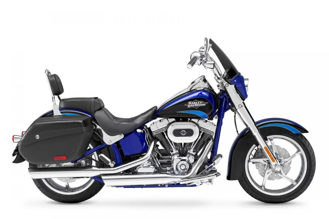 2011 Harley Davidson FLSTSE2 CVO Softail Convertible wallpaper