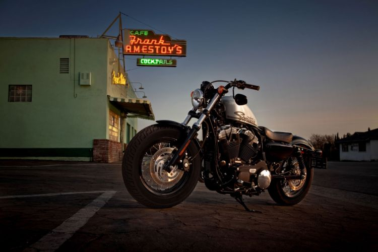 2011 Harley Davidson Forty-Eight 4-8 wallpaper