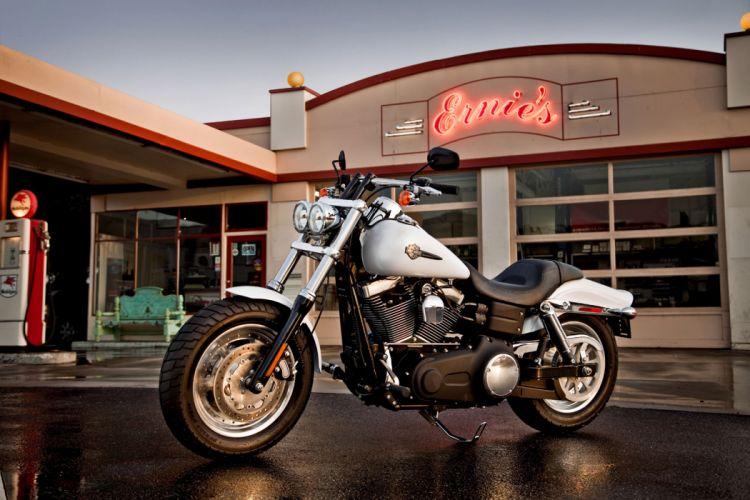 2011 Harley Davidson FXDF Fat Bob q wallpaper
