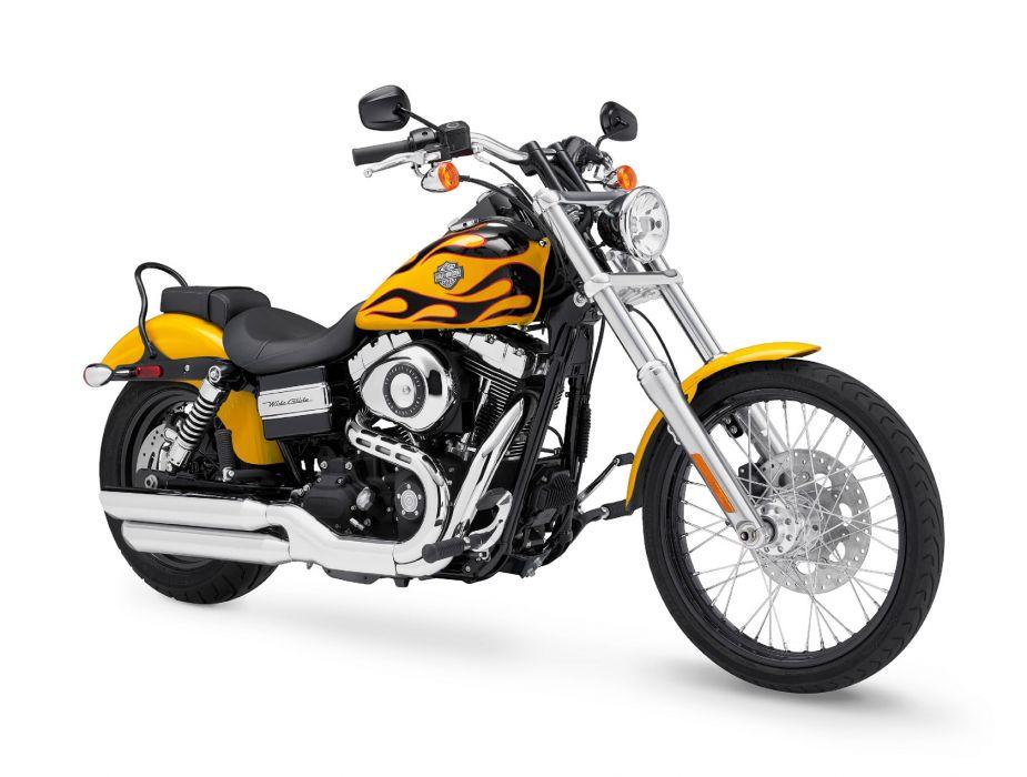 2011 Harley Davidson FXDWG Dyna Wide Glide   f wallpaper