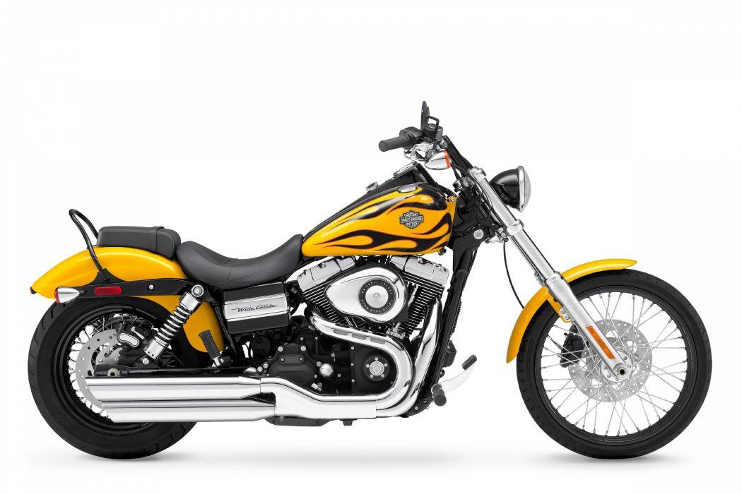 2011 Harley Davidson FXDWG Dyna Wide Glide wallpaper