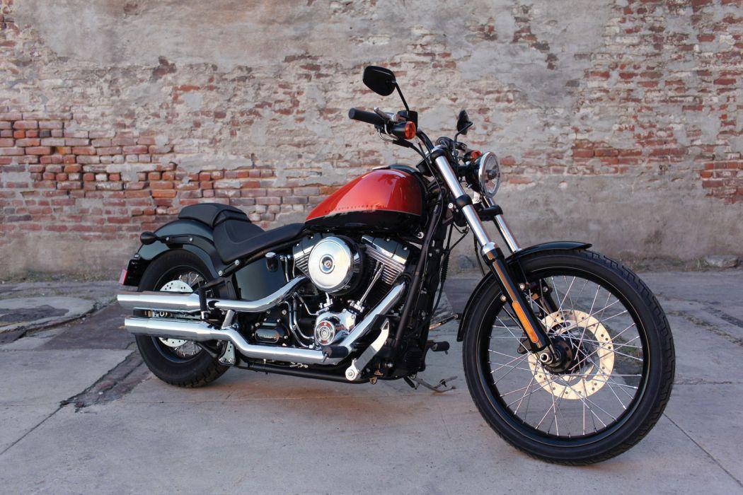 2011 Harley Davidson FXS Blackline    f wallpaper