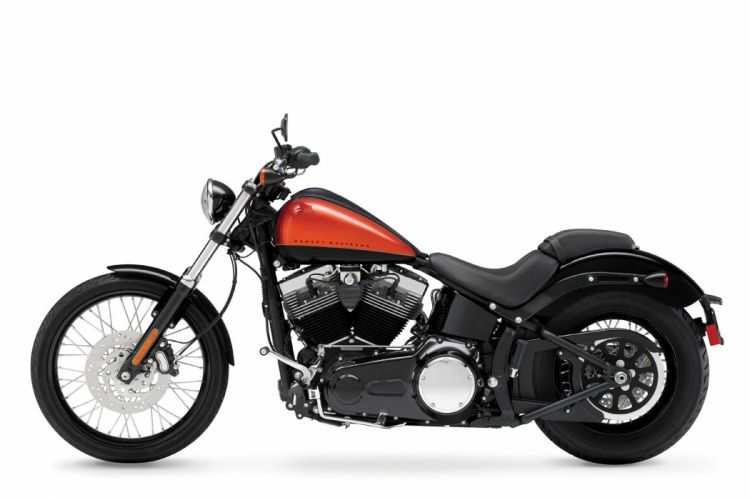 2011 Harley Davidson FXS Blackline d wallpaper