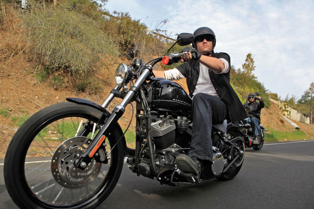 2011 Harley Davidson FXS Blackline wallpaper