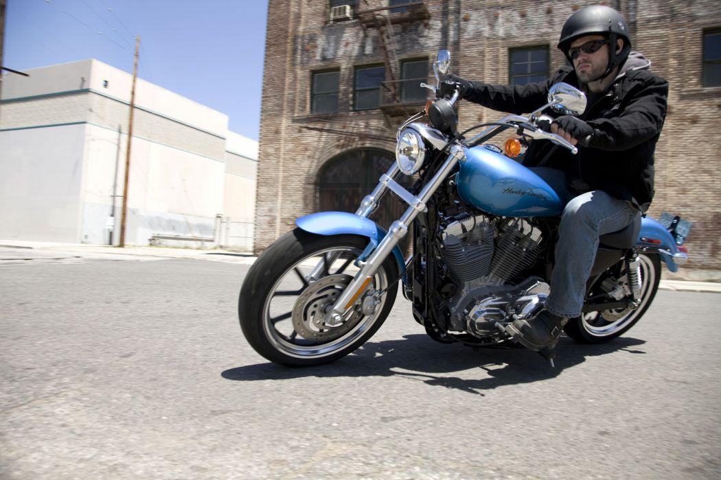 2011 Harley Davidson X-L 883L Sportster 883 SuperLow  w wallpaper