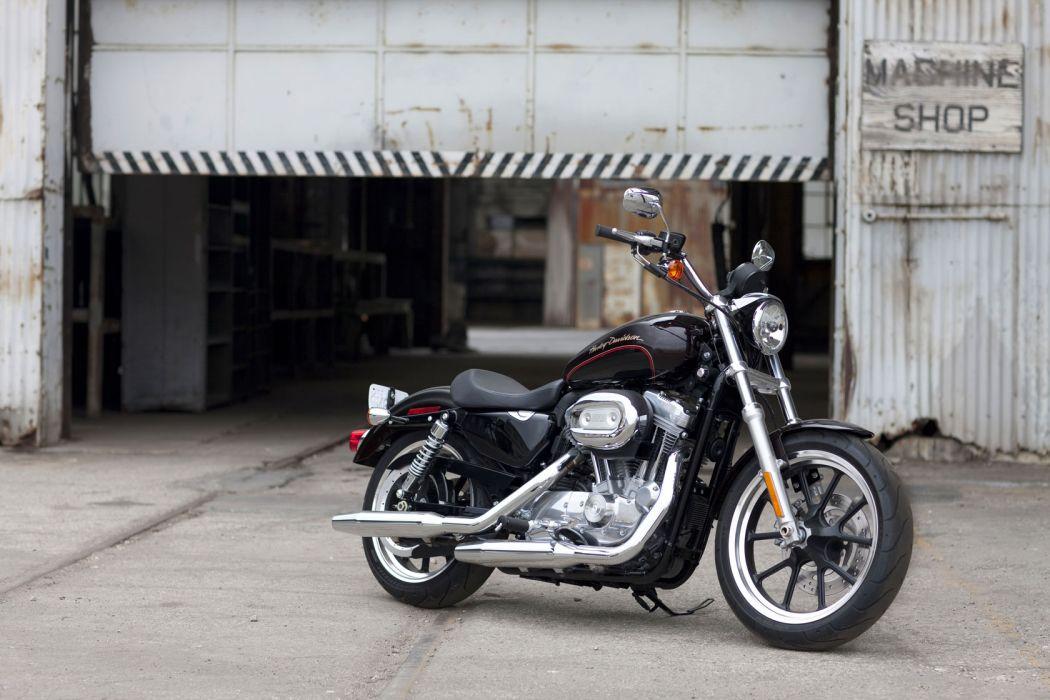 2011 Harley Davidson X-L 883L Sportster 883 SuperLow q wallpaper