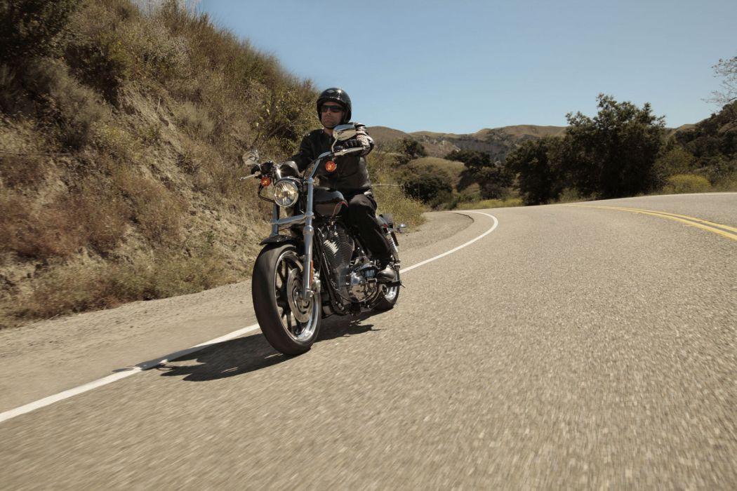 2011 Harley Davidson X-L 883L Sportster 883 SuperLow wallpaper