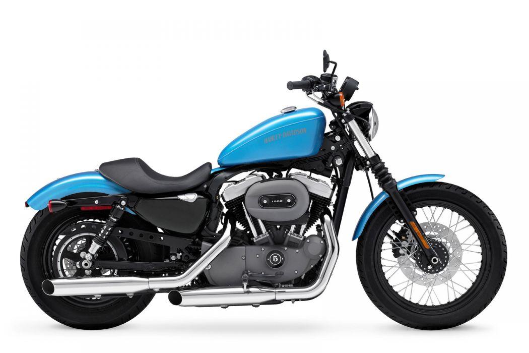 2011 Harley Davidson X-L 1200N Nightster q wallpaper