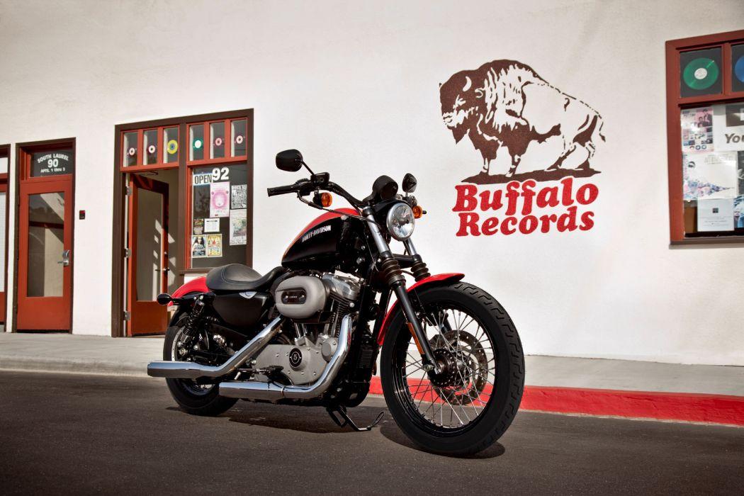 2011 Harley Davidson X-L 1200N Nightster wallpaper