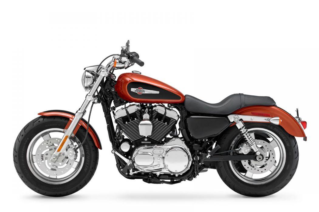 2011 Harley Davidson XL1200C Custom H-D1 Sportster   d wallpaper