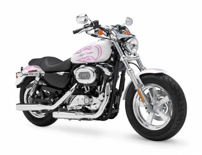 2011 Harley Davidson XL1200C Custom H-D1 Sportster g wallpaper