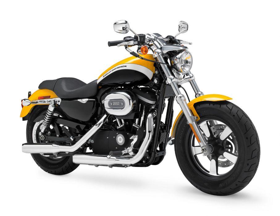 2011 Harley Davidson XL1200C Custom H-D1 Sportster  f wallpaper