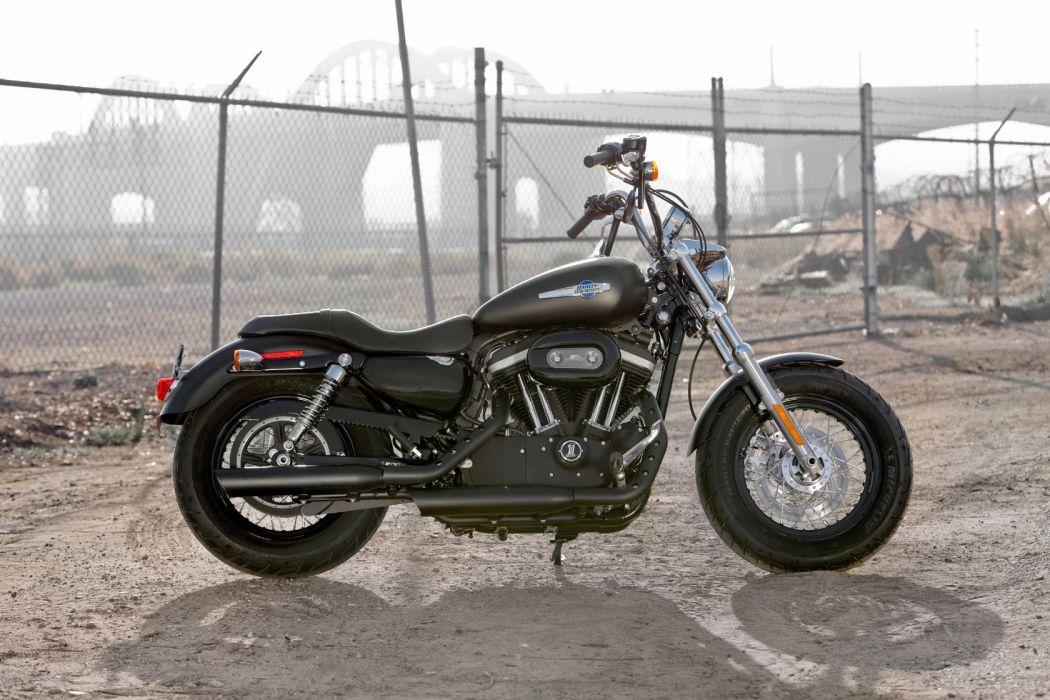 2011 Harley Davidson XL1200C Custom H-D1 Sportster q wallpaper