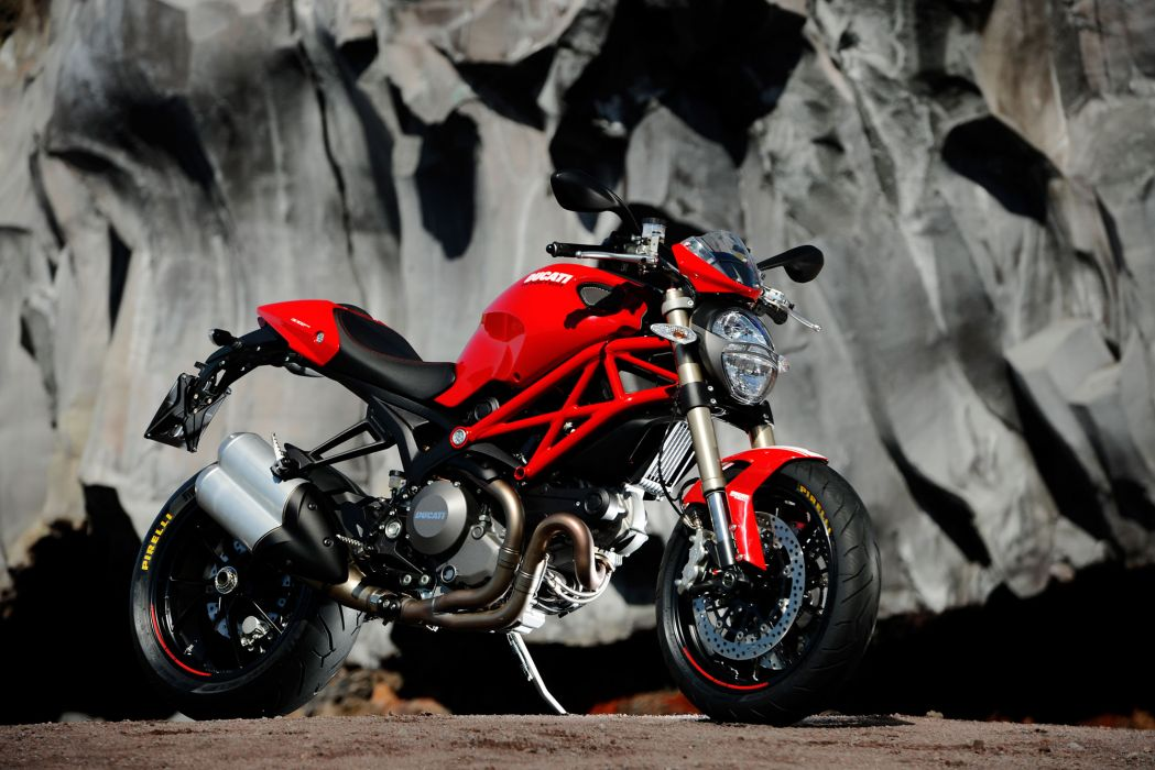 2012 Ducati Monster 1100 EVO    j wallpaper