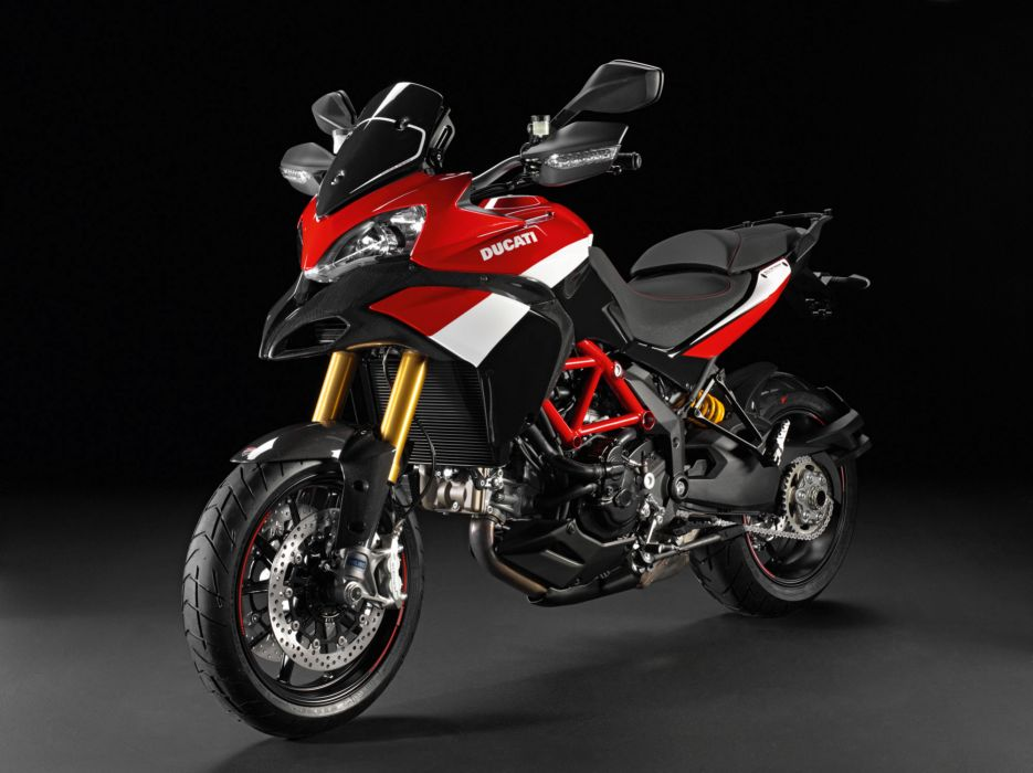 2012 Ducati Multistrada 1200S Pikes Peak     f wallpaper