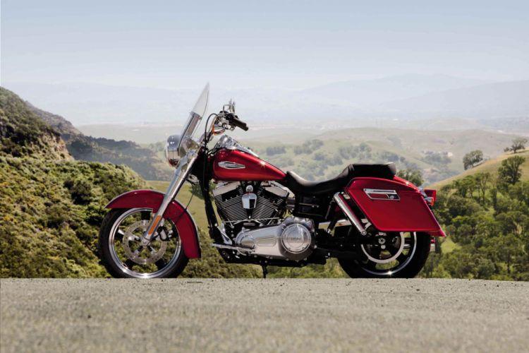 2012 Harley Davidson FLD Dyna Switchback wallpaper