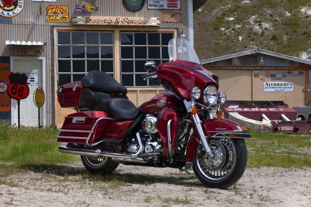 2012 Harley Davidson FLHTCU Ultra Classic Electra Glide wallpaper