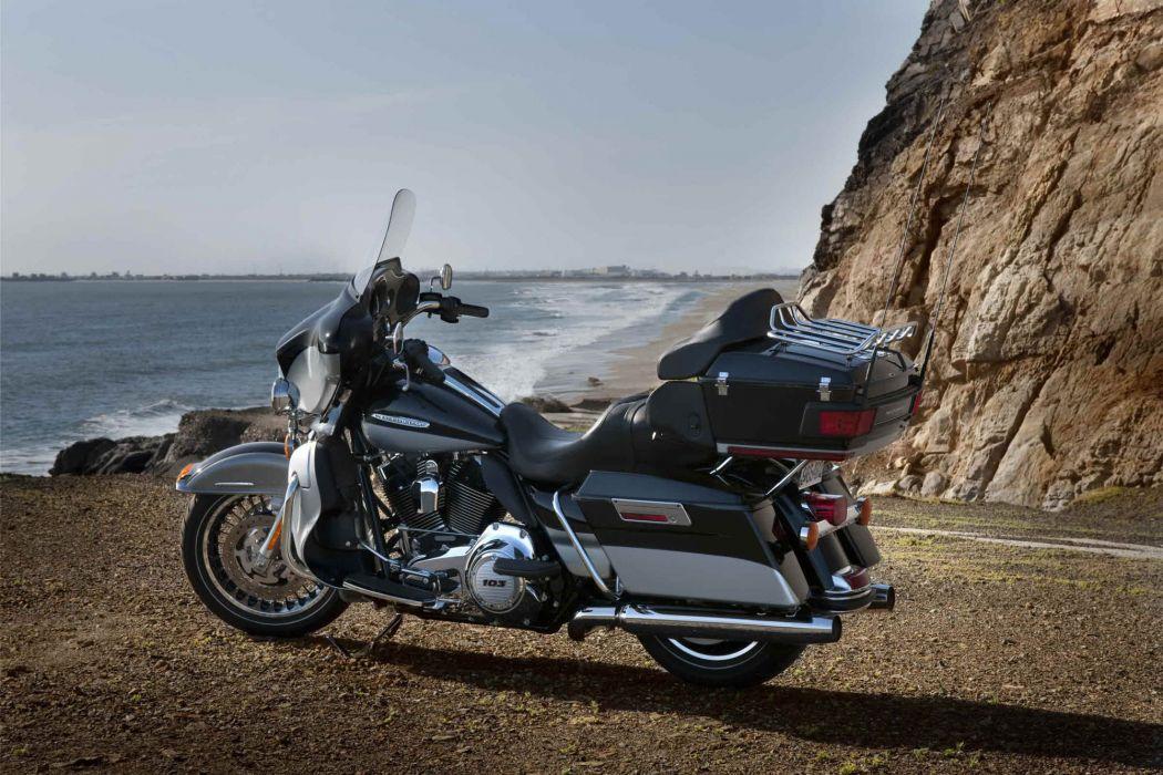 2012 Harley Davidson FLHTK Electra Glide Ultra Limited wallpaper